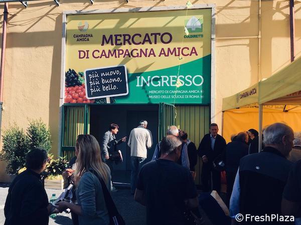 CORONAVIRUS. ROMA, COLDIRETTI: RIAPRE MERCATO CAMPAGNA AMICA A VIATIBURTINA