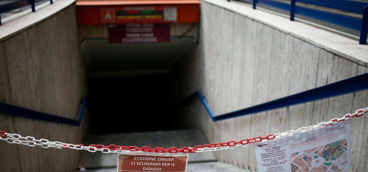 ROMA: GUASTO IN METRO A, LINEA SOSPESA DA BATTISTINI ATERMINI.