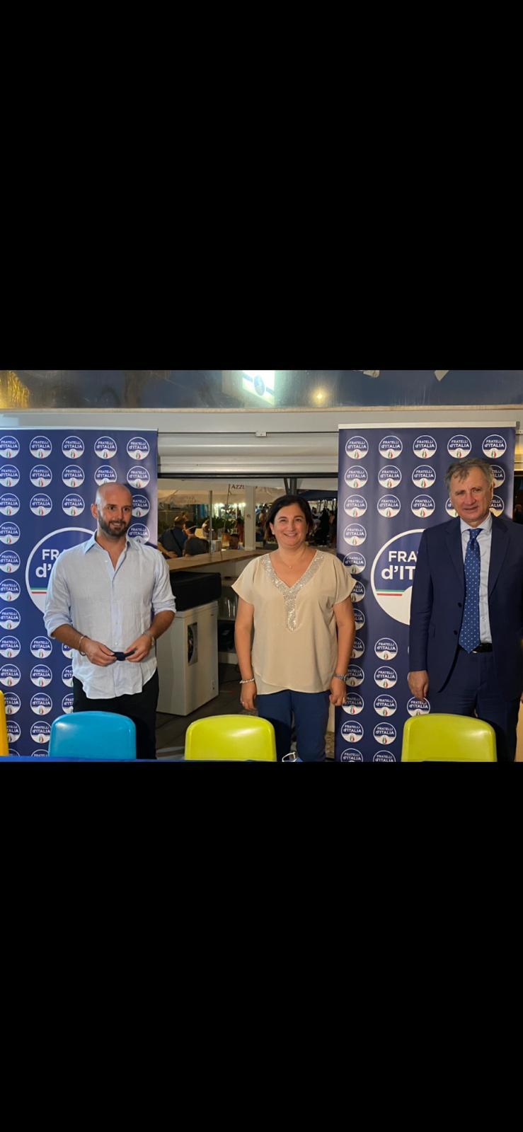 FRATELLI D'ITALIA E ROBERTA TINTARI, A TERRACINA COME IN ITALIA, È GIUNTO IL TEMPO DI UNA DONNA ALGOVERNO